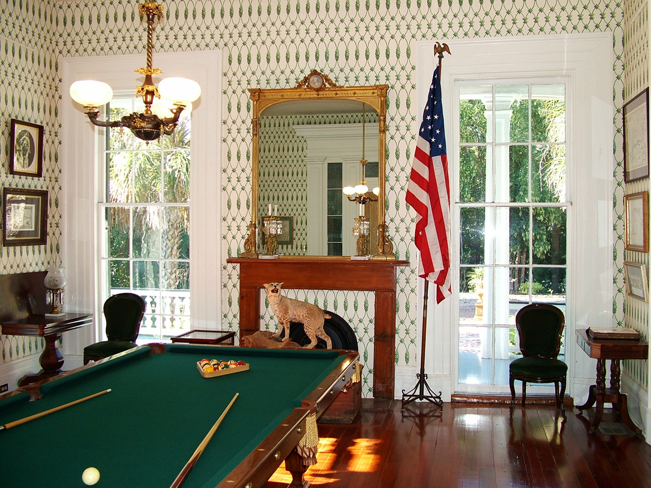 The Only B&B with an Antebellum Billiard Hall