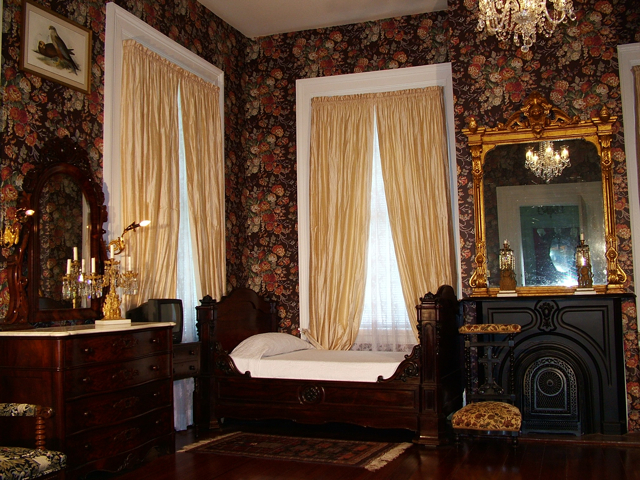 Master Bedroom Bed and Breakfast, Natchez MS, Stone House