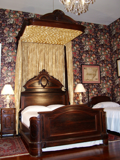 Natchez Bed and Breakfast Master Bedroom.